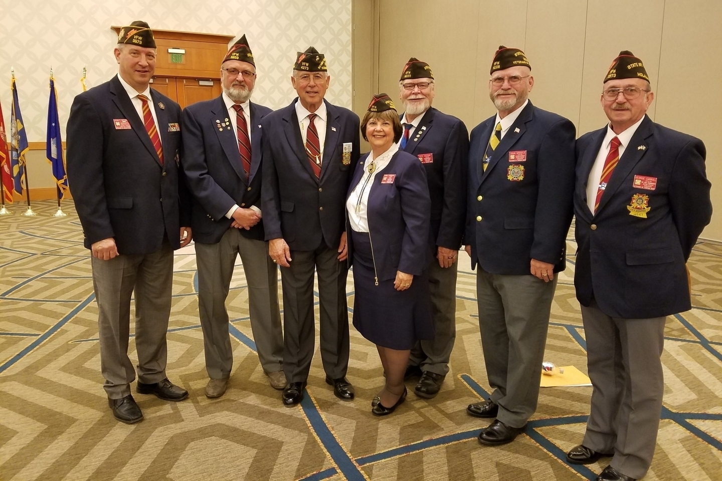 Washington welcomes comrades from the Department of Oregon at the 2019 Convention in Vancouver, WA. June 22, 2019